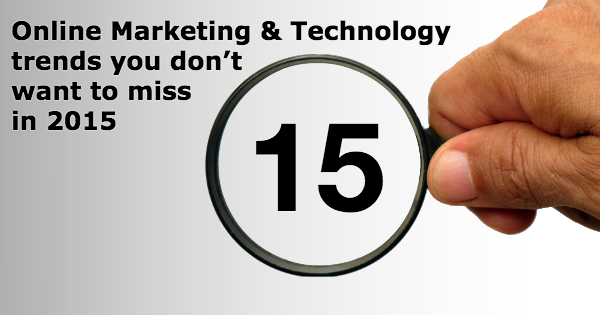 15 online marketing technology trends - FB