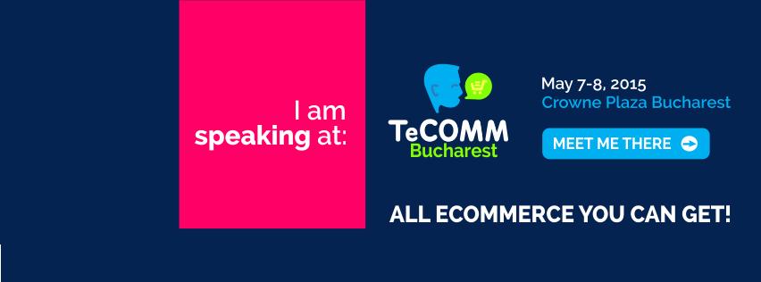 I am speaking at TECOMM