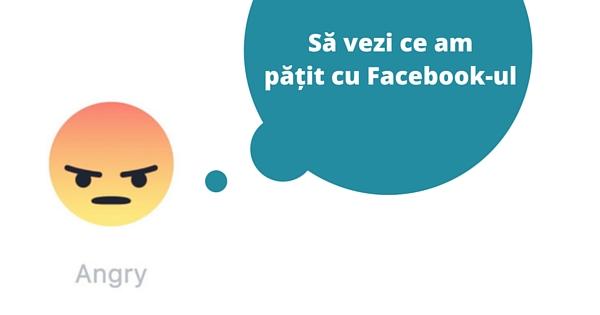Ce am patit cu Facebook-ul