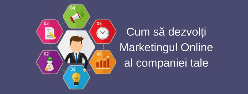 cum sa dezvolti marketingul online al companiei tale