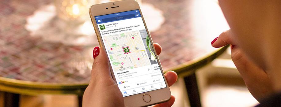 reclama facebook store visits pentru mega image