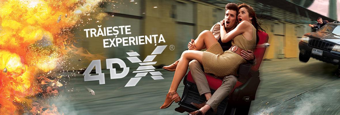 S-a lansat prima sală de cinema 4DX din Cluj-Napoca