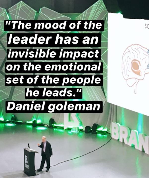 Daniel Goleman Brand Minds mood of the leader