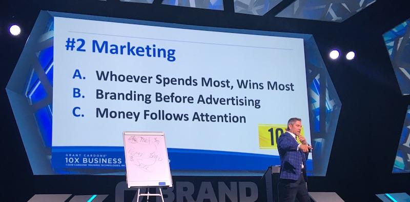 Grant Cardone la Brand Minds, vorbește despre principiile sale de Marketing