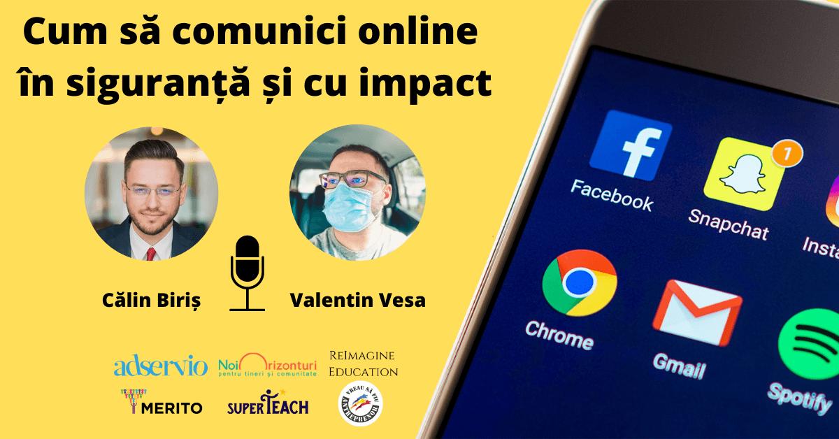 Cum să comunici online în siguranță și cu impact